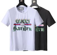 Wholesale boys polo t shirts - 2018 summer luxury boy Tees Italy T-shirt tee Polo High garter cat printing Men's T-Shirts fashion clothing Brand polo shirt Men's Tees 005