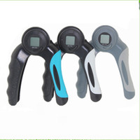 Wholesale exercise electronics online - Electronics Sporting Calorie Gripper Count Number Counter Time Timer Exercise Grip Strength Light Portable Easy To Carry zk ii