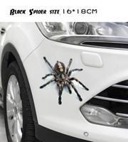 Wholesale 3d Lizard Sticker - 3D Scorpion Lizard Spider Car Sticker Car Modification Decal Auto Tuning Stickers
