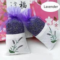 Wholesale Lavender and Rose sachets natural dried flowers sleep sweet bursa car wardrobe sachets mouldproof sweet fume bags special gift
