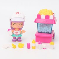 Wholesale diy princess girl gifts - Pinypon Travelers Set Princess doll Pinypon scented doll pvc figure for girl toys gifts