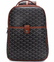 Wholesale vintage leather school satchel resale online - Hot Sell Famous Design Leather Backpack Classic Rucksack Waterproof Bookbags High Quality Unisex School Bag Satchel Travel Backpacks Brand
