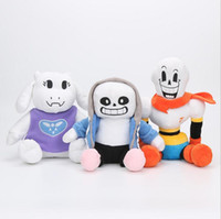 Wholesale undertale plush sans for sale - Anime Undertale Plush Toys Undertale Sans Papyrus Asriel Toriel Stuffed Plush Toys Kids Children Gift OOA4028