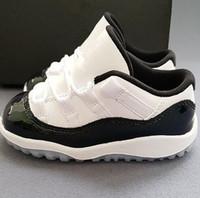 zapatos de baloncesto para niños con descuento al por mayor-Nuevo Barato XI Elite Zapatos de baloncesto Hombre 11 Zapatillas de deporte de alta calidad en línea Descuento original Zapatillas deportivas Zapatillas deportivas para niños