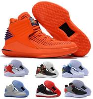 ingrosso sconto di avvio-Sconto Top Scarpe da pallacanestro 32 XXXII Trainer Per uomo Weaves vamp North Carolina scarpe da basket blu Nero Rosso Giallo Sneaker US 7-12