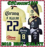 bb78bd63d 2019 Club de Futbol America home Soccer Jersey 18 19 Club de Futbol America away  Soccer Shirt Customized Mexico club football uniform Sales