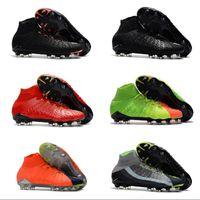 dfa766c32 Mens high ankle FG soccer cleats Hypervenom Phantom III DF soccer shoes  neymar IC football boots cleats TF football shoes Cheap 1s