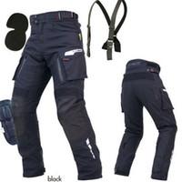 calças de corrida de komine venda por atacado-Alta qualidade Komine PK914 primavera inverno off-road motociclista calças de passeio da motocicleta calças de corrida de corrida de automóveis