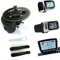 bicicleta sensor al por mayor-VERSIÓN NWE Tongsheng TSDZ2 DIY kit de conversión ebike Medio motor de accionamiento, Sensor de par 36V / 48V / 52V 350W 500W 750W Motor eléctrico de alta velocidad para bicicletas