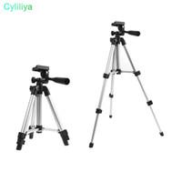 регулируемые подставки для фотоаппаратов оптовых-DHL выдвижная портативный штатив стенд регулируемая камера мини-проектор 35см-105 см (Цвет: Черный)