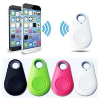 rastreador para personas mayores al por mayor-Mini GPS Tracker Bluetooth Key Finder Alarma Buscador de artículos bidireccional para niños, mascotas, ancianos, carteras, automóviles, teléfono con batería