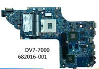 hp pavyonu için anakart dv7 toptan satış-682037-501 682037-001 HP ENVY PAVILION DV7 DV7T-7000 için entegre olmayan MotherBoard SİSTEM KURULU