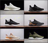 Wholesale alpha leather - 2018 Alphabounce EM Boost 330 Running Shoes Mens trainers Highest Quality Alpha bounce Sports Trainer Sneakers Man Shoes Eur Size 40-45