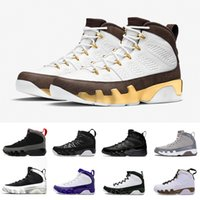 Wholesale new tours - New Mop Melo Bred 9 LA Oreo Man basketball shoes black red white shoe Tour Yellow PE 9s Men sport trainer Sneakers Shoes