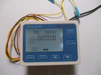 controlador de flujo de agua al por mayor-Controlador cuantitativo del medidor de flujo de la pantalla digital del sensor de flujo de líquido de agua LCD