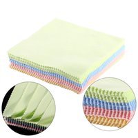 Wholesale Mobile Screen Cleaning - 70pcs set Square Microfiber Dust Cleaning Cloth Screen Cleaners For Mobile Phone Screen Camera Lens LCD Digital Product