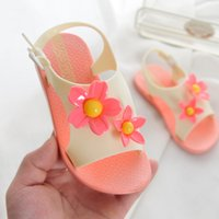 Wholesale flower girl shoes sale - Jasmine Beach Sandals for Girls Summer Hawaii Kids Shoes For Sale Flower Sandles Toddler Fashion Shoes Dropshipping Available