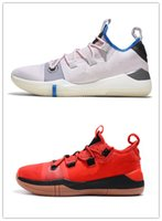 ingrosso arancione scarpe kb-Drew League Gioco Scarpe da Basket Kobe AD React Esodo Rosso Nero Arancione Scarpe sportive AAA Qualità KB 14 Scarpe da ginnastica Uomo Sneakers Taglia 40-46
