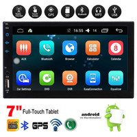 Wholesale 1gb Music Player - 7'' Universal Android 6.0 Car Stereo Radio Headunit Autoradio GPS Navi in Dash Audio Video System Bluetooth WiFi Mirror Link 1GB+16GB Music