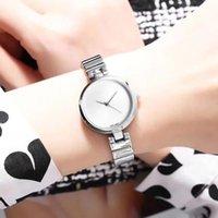 женские водяные часы оптовых-Горячие Женские часы Лучший бренд Роскошные часы для дам девушка подарки Нержавеющая сталь ремешок Водостойкие Montre Femme Часы Бесплатная Доставка