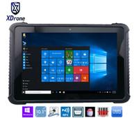 ingrosso tabelle porcellana 4g lte-Cina K16H Tablet PC rugged 10 pollici Windows 10 casa Z8350 IP67 impermeabile Shockproof Android 4G LTE Fingerprint RS232 RJ45 GPS