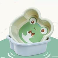 arsch groß großhandel-Kinderwaschbecken Kunststoff Waschbecken Hause große dicke Cartoon Waschbecken Baby waschen Arsch kleine Wanne