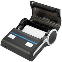 expédition d'étiquettes achat en gros de-Meihengtong Imprimante d'étiquettes thermique de codes à barres Maker USB + réception Bluetooth Imprimantes d'étiquettes d'imprimante pour magasin Paiement Expédition gratuite NB