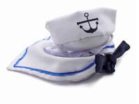 Wholesale sail clothing for sale - New Arrival Fashion Pet Clothing Apparel Dog Cat Hat Sailor Suit Navy Suit Sailing Suit Cloak MOQ