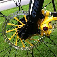 Wholesale mtb bike disc rotor resale online - 2pcs mm Disc Brake Rotor Cycling MTB G3 CS Clean Sweep Road Mountain Bike Disc Brake Rotor Bike Blots Screw Bicycle Tool