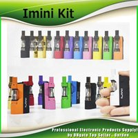 Wholesale rechargeable vaporizer - Imini Thick Oil Vaporizer Starter Kit Rechargeable 500mAh Box Mod Battery with 0.5ml 1.0ml Liberty V1 Tank Cartridge For Wax Atomizer