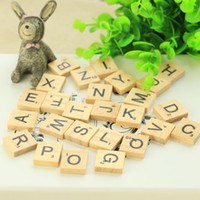 Wholesale Wooden Photography Props - 26 Wooden English alphabet decoration photo photography equipment 2018 New HOT Photographic photography props wholesale Free shipping