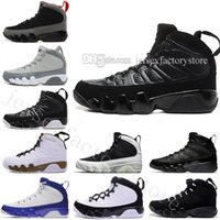 Wholesale nylon training - 2018 high quality New arrival 9 Oreo MENS basketball shoes black white shoe Brand 9s Mens sports Outdoor Training Sneakers size US 7-13