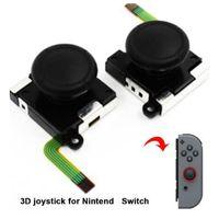 joystick-teile großhandel-3D Analog Griff Joystick Rocker Stick Sensor Modul Für Nintend Schalter NS Joy Con Controller Ersatzteile