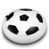 juguete flotante al por mayor-Hot Hover Ball Luz LED intermitente Llegada Air Power Balón de fútbol Disco de fútbol de interior Multi-superficie Hovering y deslizamiento Juguetes