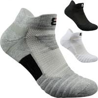 erkekler bisiklet çorapları toptan satış-Erkekler Elite Açık Spor Basketbol Çorap Erkekler Futbol Bisiklet Çorap Sıkıştırma Pamuk Havlu Alt kaymaz erkek