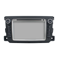 Wholesale smart car rear online - Inch Octa core Andriod Car DVD player for Benz SMART with GPS Steering Wheel Control Bluetooth Radio