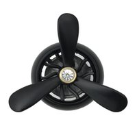 fan de la fragancia al por mayor-Universal Car Air Conditioner Outlet Vent Clip Mini Fan Aircraft Head Ambientador Perfume Fragancia Perfume aromaterapia interior