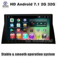 Wholesale american din - QZ HD 1024*600 Android 7.1 T3 car DVD player for Honda Accord 8 North American Version with 3G 4G GPS WIFI BT Radio navigation Maps free map