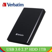 ingrosso portatile mobile-Verbatim 1 TB USB3.0 2.5 in HDD portatile Disco rigido esterno mobile di archiviazione per laptop desktop 1 TB USB 3.0 da 2.5 pollici HDD portatile
