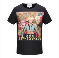 Wholesale G Tshirt - A-002 Summer women's and men's gg T Shirt Casual Short Sleeves T-Shirt Breathable Elasticity Kintwear Top O-Neck Female g Tshirt
