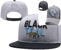 Wholesale black purple fedora hats - 2018 fan's hats Men snapbacks Cool Women headwear Jaguars Adjustable Caps All Team snapbacks Accept Drop ship