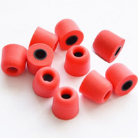 Wholesale Quality Foam - Medium Size Replacement Foam Earbud Memory Eartips Replacement Earbuds Bud Tips For All Models In-Ear Headphones Earphones High Quality
