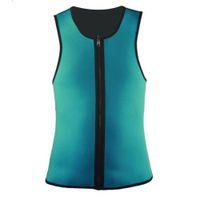 Wholesale shapewear clothing for sale - Waist Slimming Vest Gym Clothes Power Belt Body Shapewear Men Hot Shaper Sportswear