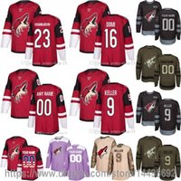 Wholesale Womens 16 - Customized Mens Womens Kids Arizona Coyotes 2 Luke Schenn 9 Clayton Keller 23 Oliver Ekman-Larsson 44 Kevin Connauton 16 Max Domi Jerseys