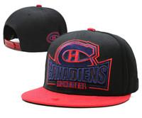 nhl спортивные трикотажные изделия оптовых-Оптовые новые НХЛ Нью-Джерси Девилс Snapback мужские шляпы Вышивать логотип команды Спортивные регулируемые хоккейные шапки хип-хоп плоский козырек шляпа