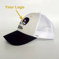 Wholesale trucker accessories resale online - Curved visor mesh back small MOQ clothing accessory gift hat good quality popular trucker cap custom hat baseball sport caps