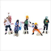 manga de figura de ação venda por atacado-32 gerações de 5 Naruto Kakashi Naruto Sasuke Olhos Escritório Aberdeen Decoração Anime Manga Figuras de Ação V 002