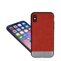 Wholesale Iphone Crocodile Leather - Crocodile Leather For iPhone 8 X case Crocodile Grain phone case For Apple iPhone 6S plus Case Cover