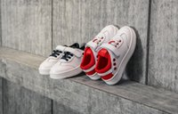 Wholesale Magic Laces - 2018 spring new leather children's magic stickers boys casual shoes tide girls shoes wholesale