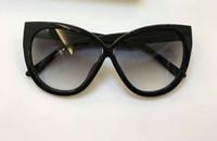 Wholesale smoking boy - Womens Cat Eye Samantha TF 511 Sunglasses Spotted Havana Smoke Gradient Lenes Brand Sunglasses With original Case